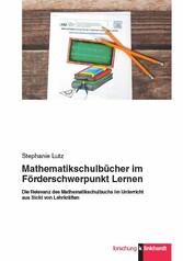 Mathematikschulbücher im Förderschwerpunkt Lern...