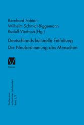 Deutschlands kulturelle Entfaltung 1763-1789 - ...