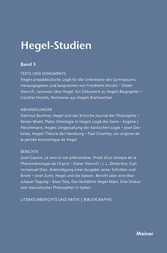 Hegel-Studien / Hegel-Studien Band 3 - 1965