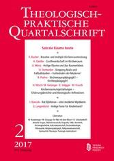 Sakrale Räume heute - Theologisch-praktische Quartalschrift
