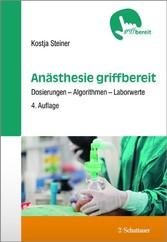 Anästhesie griffbereit - Dosierungen - Algorith...