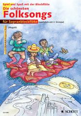 Die schönsten Folksongs - 1-2 Sopran-Blockflöten