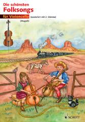 Die schönsten Folksongs - 1-2 Violoncelli