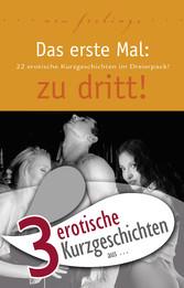 3 erotische Kurzgeschichten aus: Das erste Mal: zu dritt!
