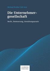 Die Unternehmergesellschaft - Recht, Besteuerun...