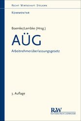 AÜG - Arbeitnehmerüberlassungsgesetz - Kommentar