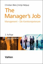 The Managers Job - Management - Die Kernkompete...
