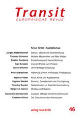Transit 46. Europäische Revue - Krise Kritik Ka...