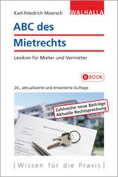 ABC des Mietrechts - Lexikon für Mieter und Ver...