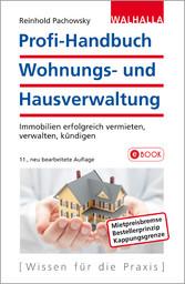 Profi-Handbuch Wohnungs- und Hausverwaltung - I...