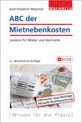 ABC der Mietnebenkosten - Lexikon für Mieter un...