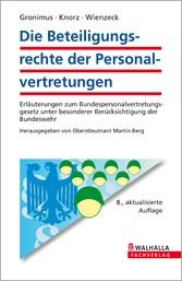 Die Beteiligungsrechte der Personalvertretungen...