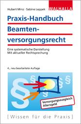 Praxis-Handbuch Beamtenversorgungsrecht - Eine ...