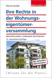 Ihre Rechte in der Wohnungseigentümerversammlun...