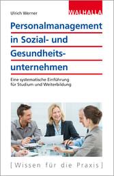 Personalmanagement in Sozial- und Gesundheitsun...