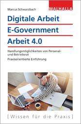 Digitale Arbeit, E-Government, Arbeit 4.0 - Han...