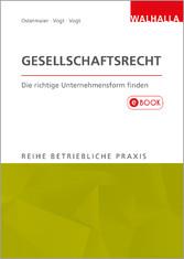 Gesellschaftsrecht - Die richtige Unternehmensf...