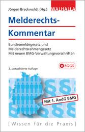 Melderechts-Kommentar - Bundesmelderecht und Me...