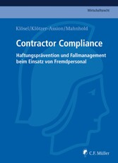 Contractor Compliance - Haftungsprävention und ...