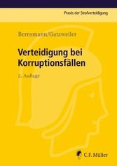 Verteidigung bei Korruptionsfällen