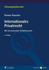 Internationales Privatrecht - Mit international...