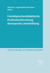 Fremdsprachendidaktische Professionsforschung: ...