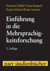 Inhaltsverzeichnis Von Einführung In Die Mehrsprachigkeitsforschung