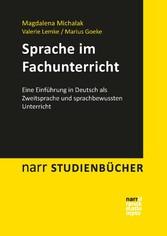 Sprache im Fachunterricht - Eine Einführung in ...