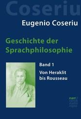 Geschichte der Sprachphilosophie - Band 1: Von ...