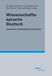 Wissenschaftssprache Deutsch - international, i...
