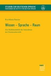 Wissen - Sprache - Raum - Zur Multimodalität de...