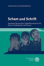 Scham und Schrift - Strategien literarischer Su...