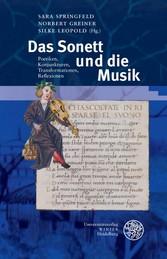 Das Sonett und die Musik - Poetiken, Konjunktur...