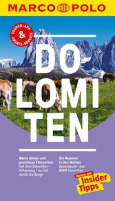 MARCO POLO Reiseführer Dolomiten - Reisen mit I...
