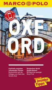 MARCO POLO Reiseführer Oxford - Reisen mit Insi...