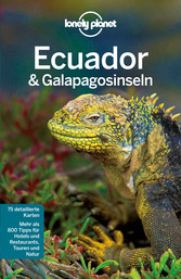 Lonely Planet Reiseführer Ecuador & Galápagosin...