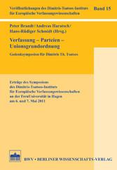 Verfassung - Parteien - Unionsgrundordnung - Ge...