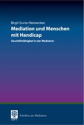 Mediation und Menschen mit Handicap - Geschäfts...