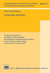 Verfassung und Krise - Erträge des Symposions d...