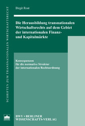 Die Herausbildung transnationalen Wirtschaftsre...