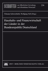 Haushalts- und Finanzwirtschaft der Länder der ...