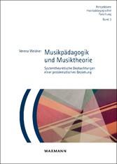 Musikpädagogik und Musiktheorie - Systemtheoret...