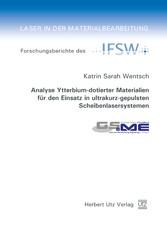 Analyse Ytterbium-dotierter Materialien für den...