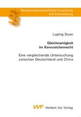 Gleichnamigkeit im Kennzeichenrecht - Eine verg...