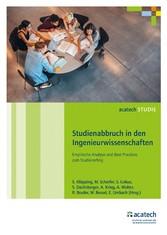 Studienabbruch in den Ingenieurwissenschaften -...