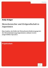 Menschenrechte und Zivilgesellschaft in Argenti...