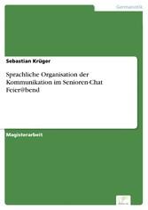 Sprachliche Organisation der Kommunikation im S...