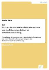 Ein Internet-Destinationsinformationssystem zur...