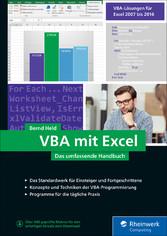 VBA mit Excel - Das umfassende Handbuch