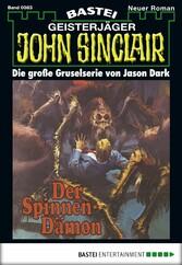 John Sinclair - Folge 0083 - Der Spinnen-Dämon